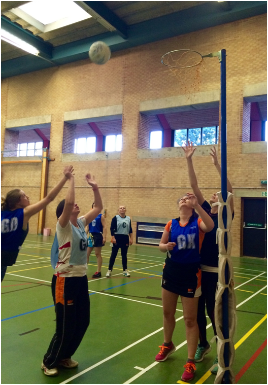 How to power train for netball