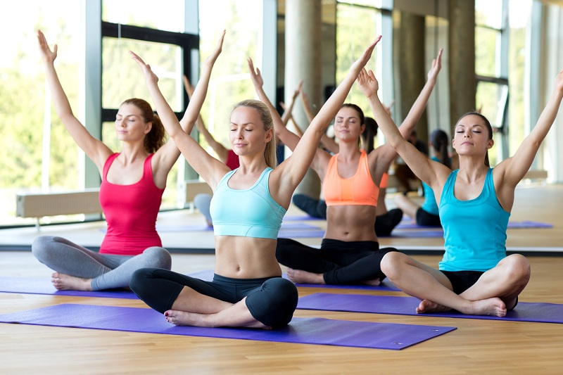 Decide the frequency to practice yoga
