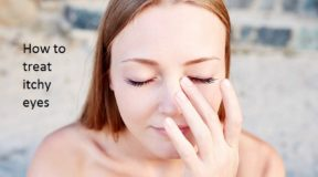 How to treat itchy eyes