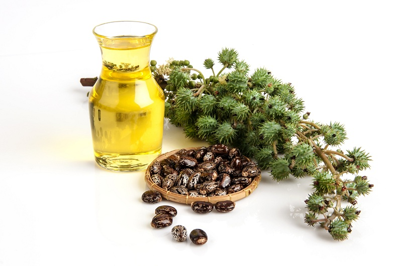 Castor oil to treat itchy eyes