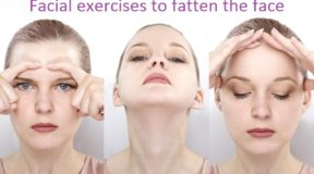 Facial exercises to fatten the face
