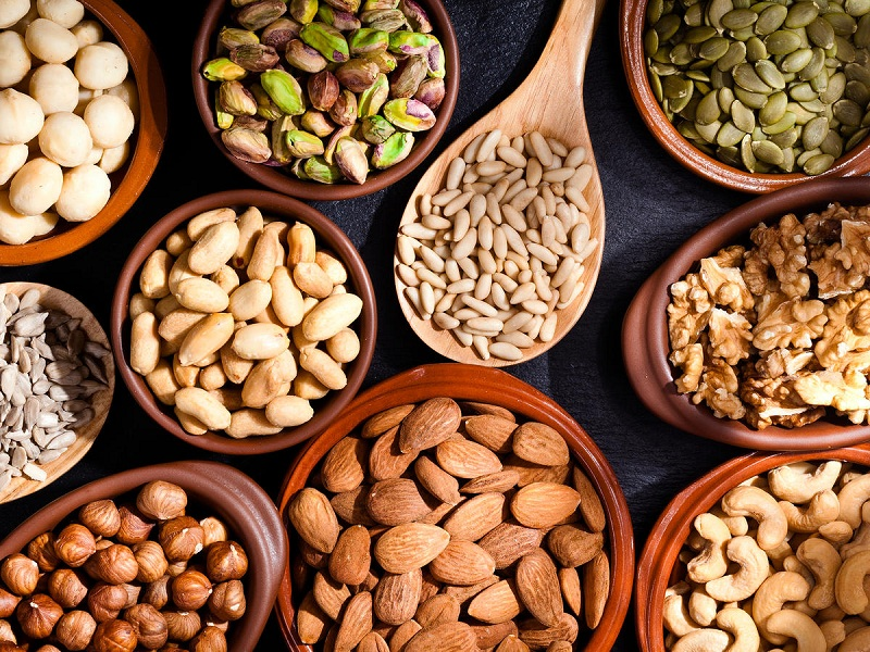 Nuts to keep your liver healthy