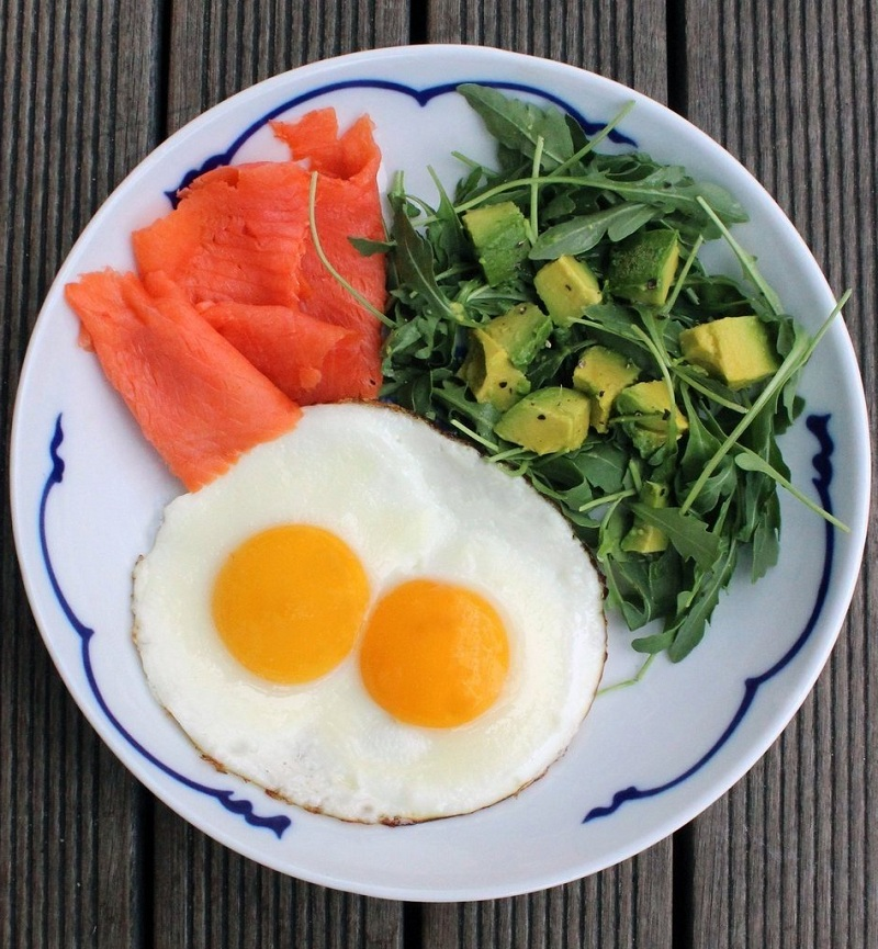 Breakfast with protein