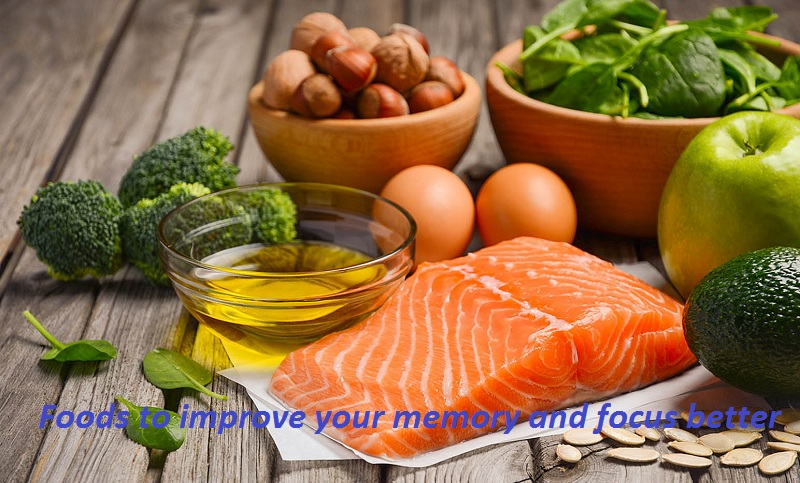 Foods to improve your memory and focus better
