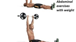 Abdominal exercises with weight