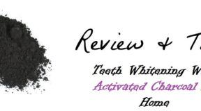 whitening with activated charcoal at home