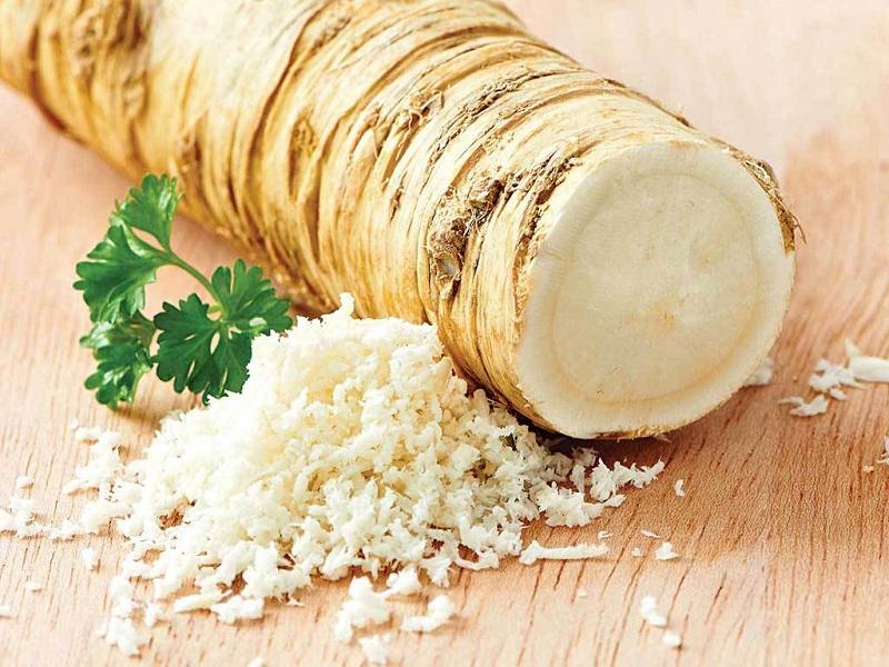 Horseradish to reduce your waist fat