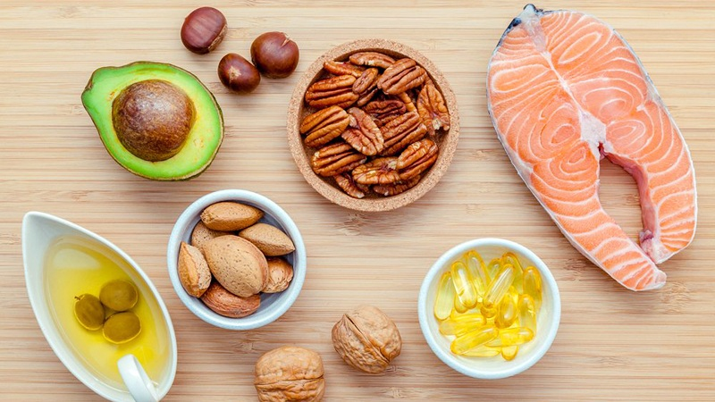 Healthy Fats to gain muscle mass