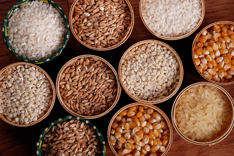 Whole Grains to gain muscle mass