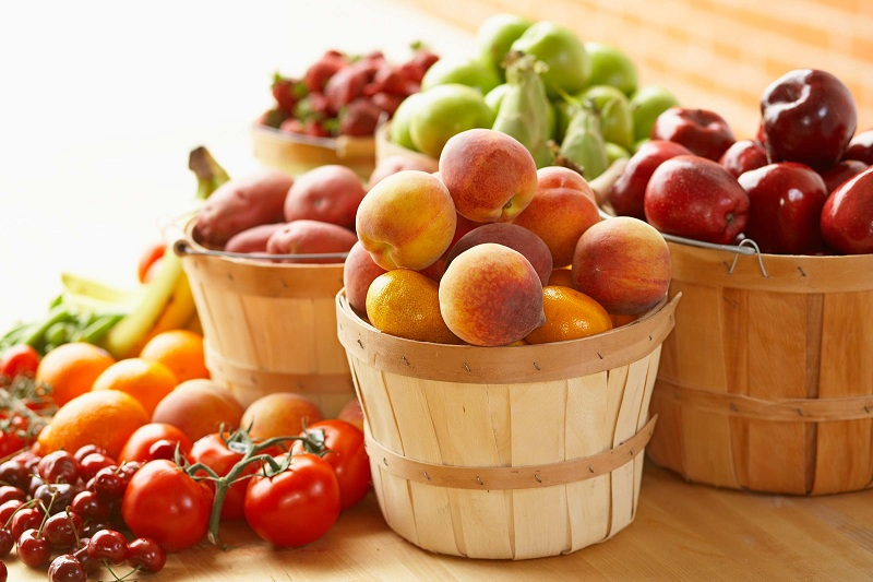 Fruits and vegetables to your diet