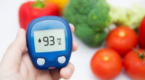 blood sugar under control