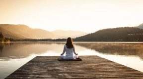Meditate with constancy
