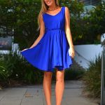 Blue dress: how to combine blue and blue outfitis ideas